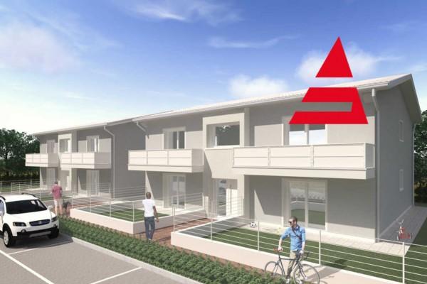 Appartamento Nuovo piano terra con giardino